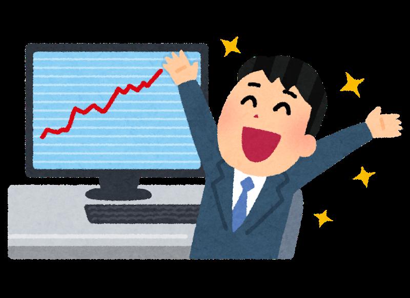【悲報】ワイ株で10万円儲けて仕事するのが嫌になってしまう…