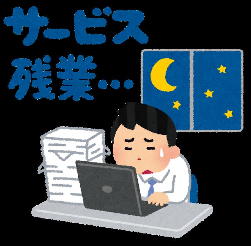 【緊急】みんな月何時間まで残業耐えれる?